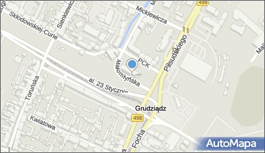 Biuro paszportowe, Grudziądz, Małomłyńska 1