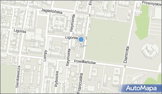 BERKLAY, 40-027 Katowice, ul. Francuska 43  - Biuro nieruchomości