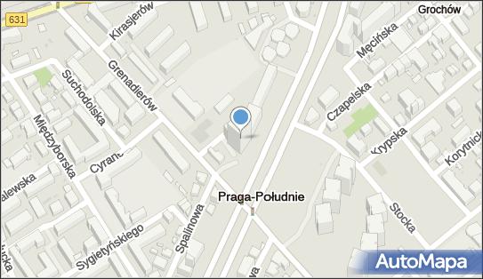 Blue Point,  Warszawa, al. Stanów Zjednoczonych 61 A  - Biurowiec
