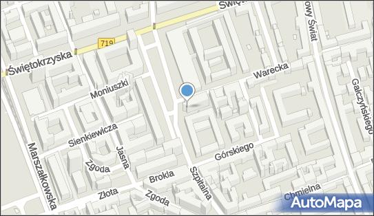 Gromada Warszawa Centrum , Warszawa, pl. Powstańców Warszawy  2  - Gromada - Hotel