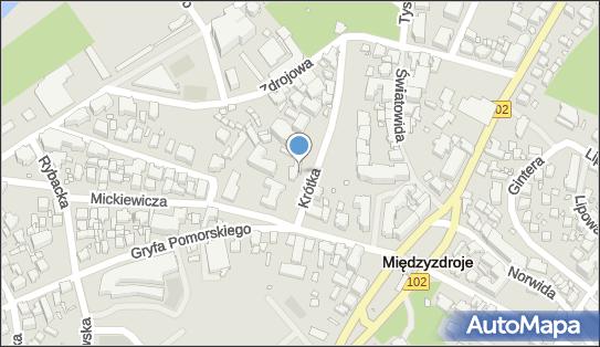 Ośrodek Wczasowy KWP, Międzyzdroje, ul. Krótka  1 - Hotel