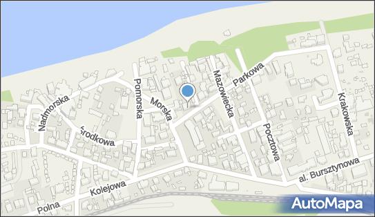 OW Niechorze Dom Wczasowy Grażyna, Niechorze, ul. Parkowa  3 - Hotel
