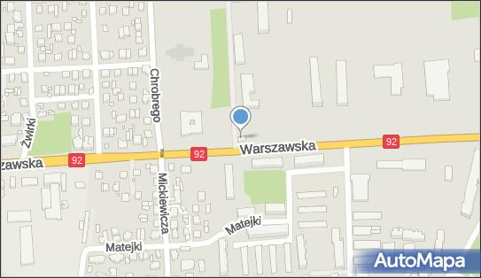 Oddział Specjalny Żandarmerii Wojskowej, Mińsk Mazowiecki - Jednostka wojskowa