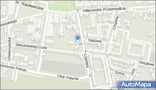 V LO im. Marii Skłodowskiej-Curie, Lublin, ul. Lipowa 7  - Liceum
