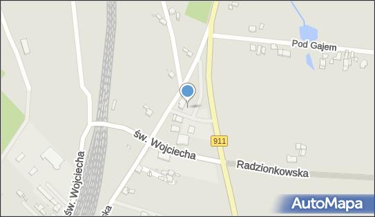 Lotos, Radzionków, Orzechowska 119  - LPG - Stacja