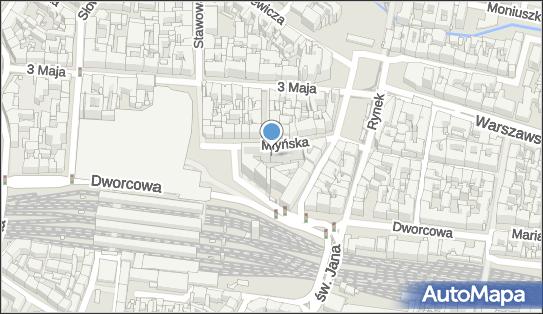 kamera online - Młyńska, dworzec PKP Katowice, 40-001, 40-098 Katowice - Monitoring miejski