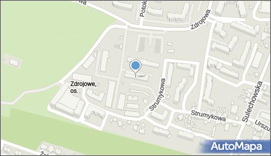 Wojskowe Biuro Emerytalne, 65-101 Zielona Góra, Strumykowa 13  - Obiekt wojskowy