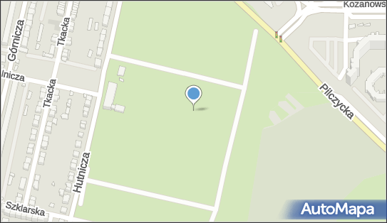 Ogródki działkowe, 54-139 Wrocław, Hutnicza  - Ogródki działkowe