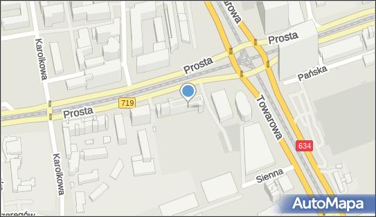 Biuro Obsługi Transportu Międzynarodowego, Warszawa, Prosta 69  - Organizacja transportowa