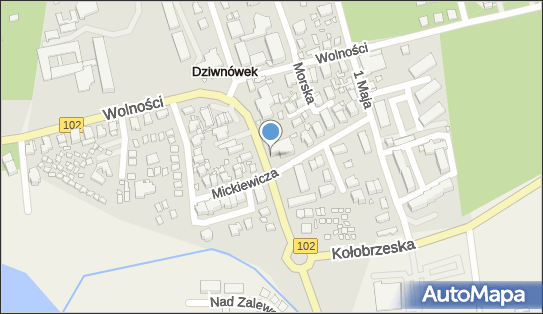 Ośrodek Wypoczynkowy Contessa, Dziwnówek, ul. Kamieńska  15