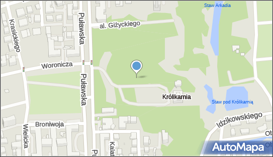 Park Królikarnia, 02-508, 02-512, 02-515, 02-559, 02-566, 02-592, 02-595, 02-600, 02-603, 02-620, 02-624, 02-670, 02-684, 02-707, 02-715, 02-740, 02-769 Warszawa - Park, Ogród