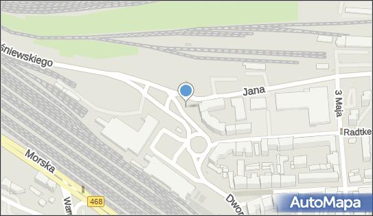 Parkomat, od 81-348 do 81-354 Gdynia-Śródmieście - Parkomat