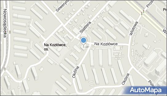 Smykoland, Kraków, Na Kozłówce 10  - Plac zabaw, Ogródek