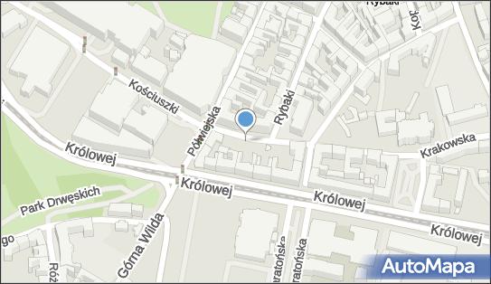 Parking Płatny-strzeżony, Poznań - Płatny-strzeżony - Parking