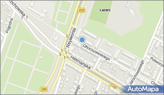 UMTS Plus, Poznań, Józefa Chociszewskiego 45  - Plus - UMTS
