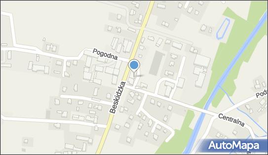 FUP Andrychów, 34-122 Wieprz, ul. Centralna 1  - Poczta Polska - Poczta