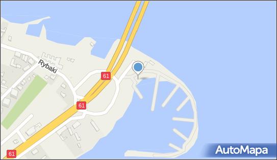 Przystań Marina Zegrze - WTW Port Kruszywa - Przystań jachtowa