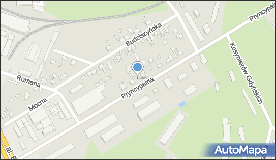 Myjnia samochodowa Ręczna, Łódź, Pryncypalna 115