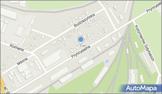 Myjnia samochodowa Ręczna,  Łódź, Pryncypalna 115  - Ręczna - Myjnia samochodowa