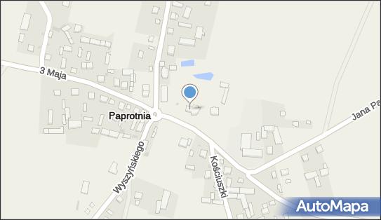 św. Bartłomieja Apostoła, 08-107 Paprotnia, Jana Pawła II 3  - Rzymskokatolicki - Kościół