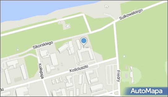 OSW Mega, 78-100 Kołobrzeg, gen. Tadeusza Kościuszki 18  - Sanatorium