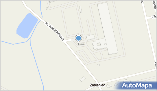 Schenker, Młochów, al. Kasztanowa 152  - Schenker