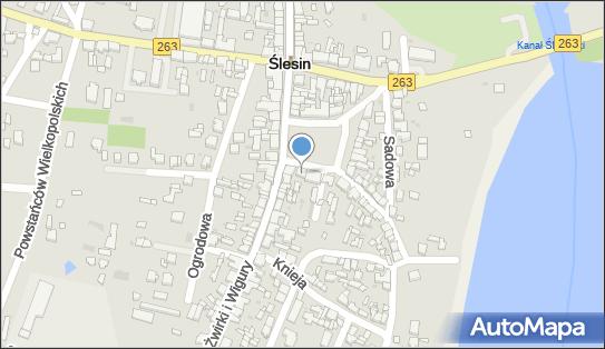 Bank Spółdzielczy w Ślesinie, 62-561 Slesin, pl. Wolności 14  - SGB - Bankomat