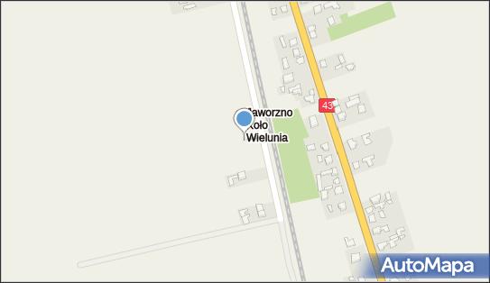 Jaworzno k/Wielunia, 46-325 Jaworzno Koło Wielunia - Stacja, Dworzec kolejowy