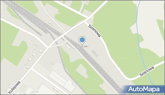 Kunów, 27-415 Janik, Sosnowa  - Stacja, Dworzec kolejowy