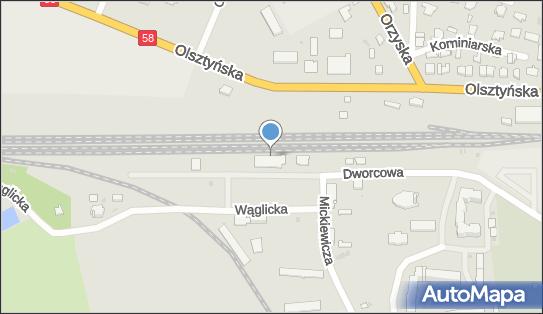 Stacja, Dworzec kolejowy, 12-200 Pisz, Dworcowa 12  - Stacja, Dworzec kolejowy