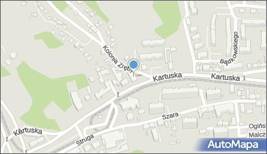 Stacja Kontroli Pojazdów, 80-122 Gdańsk, Kartuska 187  - Stacja Kontroli Pojazdów