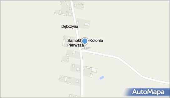 OSP Kolonia Samoklęski,  Dębczyna, Dębczyna  - Straż Pożarna