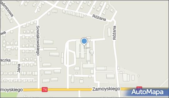 SPZOZ, 23-300 Janów Lubelski, Jana Zamoyskiego 149  - Szpital