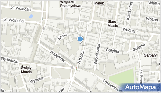 Szpital Miejski im. J. Strusia, Poznań, ul. Szkolna 8 - Szpital