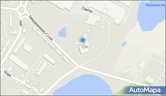 Szpital Powiatowy, Kętrzyn, Marii Skłodowskiej-Curie 2  - Szpital