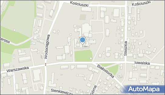 Szpital SP ZOZ, Giżycko, Warszawska 41