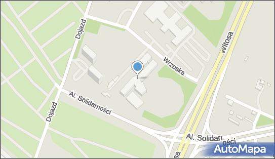 Szpital ZOZ MSWiA  im. L. Bierkowskiego, Poznań, Dojazd 34  - Szpital