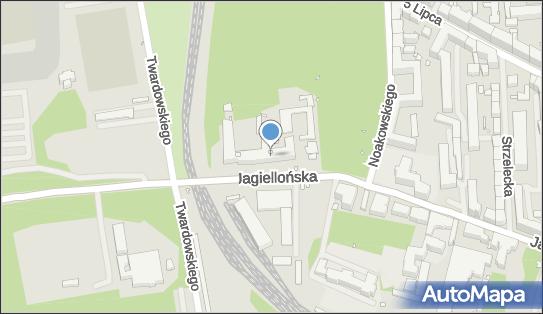 Szpital ZOZ MSWiA, Szczecin, Jagiellońska 44  - Szpital