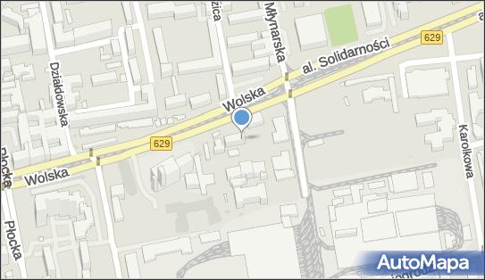 Wojewódzki Szpital Zakaźny SPZOZ,  Warszawa, Wolska 37  - Szpital