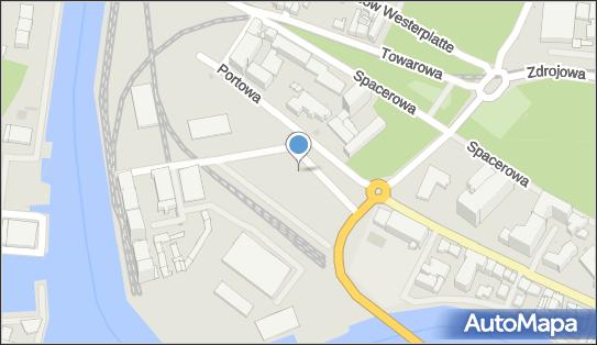 SMOC Port Morski, Kołobrzeg, Portowa 41  - Urząd Celny