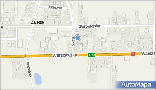 Urząd Gminy, Zalesie, Warszawska 34  - Urząd Gminy