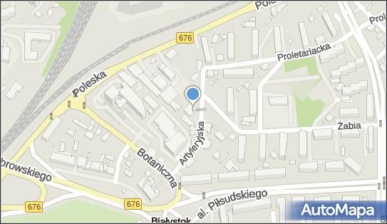 Dom Pogrzebowy Szymborscy, Białystok, Artyleryjska 9