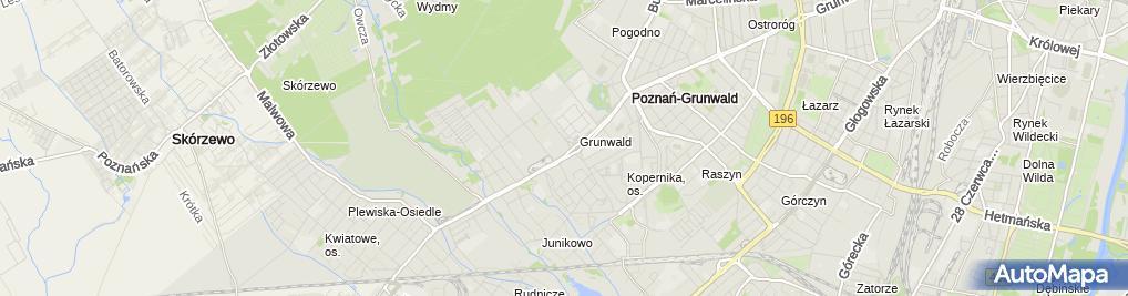 Zdjęcie satelitarne Urząd Skarbowy