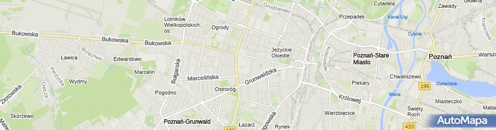 Zdjęcie satelitarne Dom Studencki MEDYK