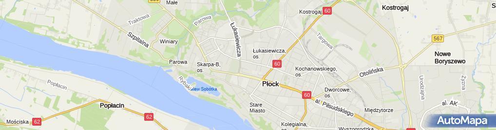 Zdjęcie satelitarne Księgarnia Jerzy Załęski