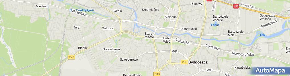 Zdjęcie satelitarne AŚ