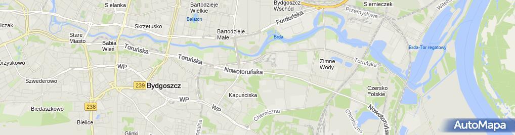 Zdjęcie satelitarne OZ