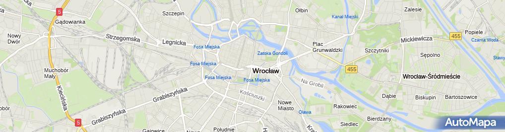 Zdjęcie satelitarne Kościół św. Wojciecha