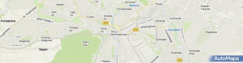 Zdjęcie satelitarne Auto-Euro S.A.