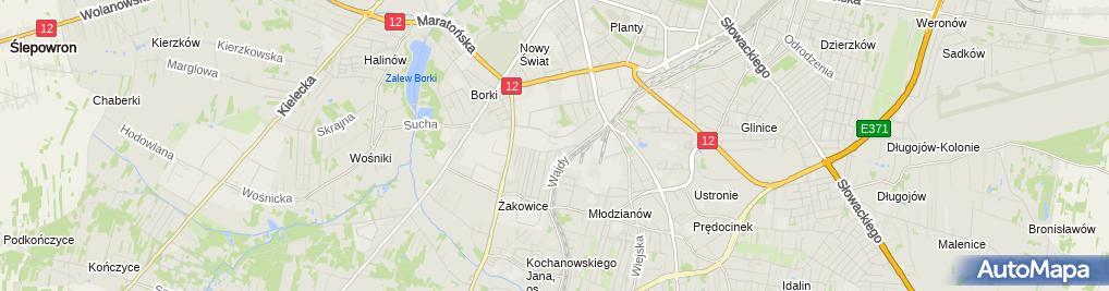 Zdjęcie satelitarne EKONAFT